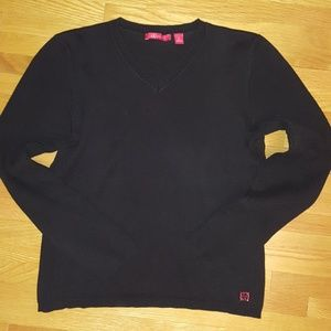 Black Thin Sweater